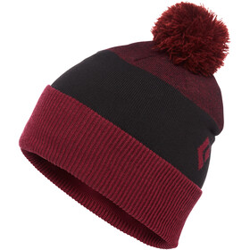 Black Diamond Pom Gorro, bordeaux/black